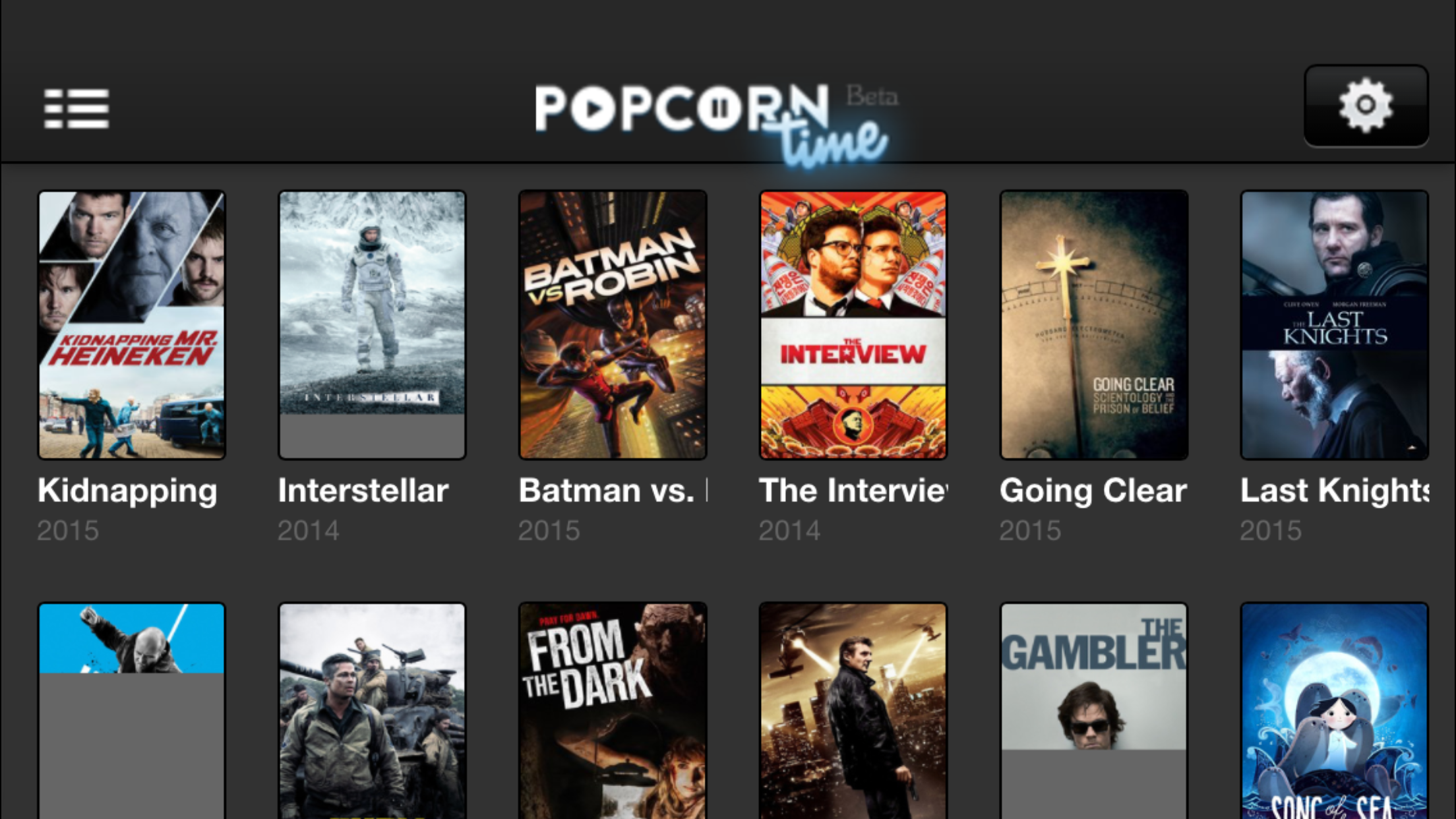 Popcorn Time's Launched on iOS