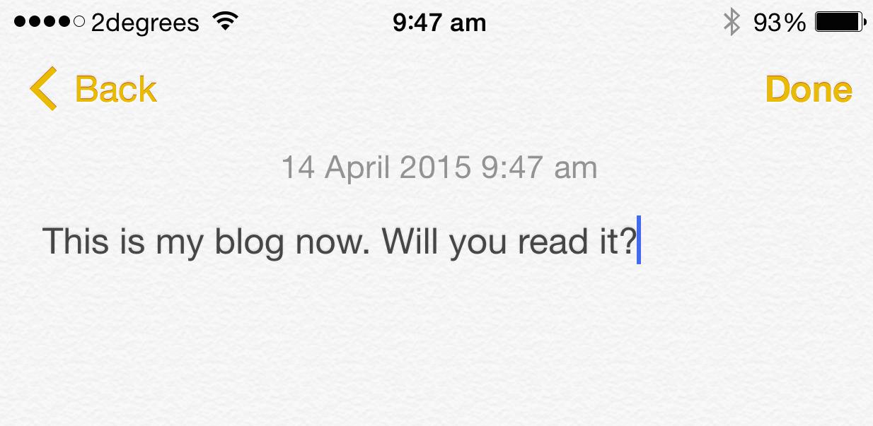 R.I.P. Blogging, Killed By Screenshorts