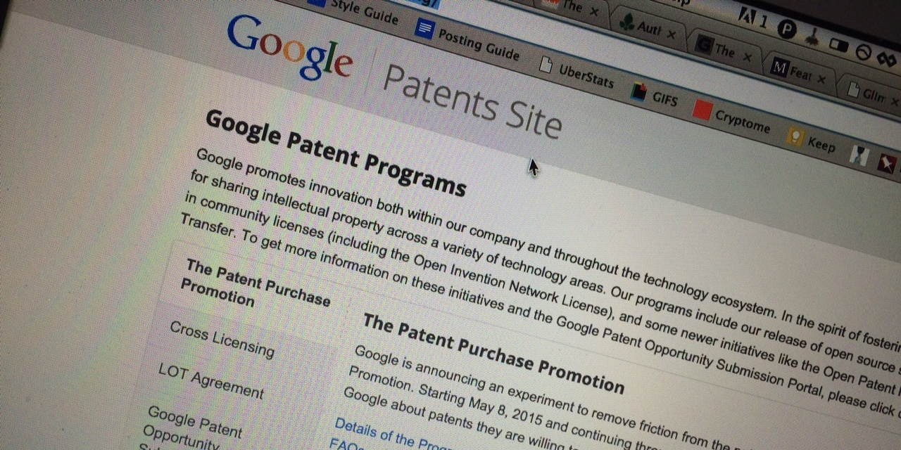 Google's Launched a Troll-Slaying Patent Marketplace