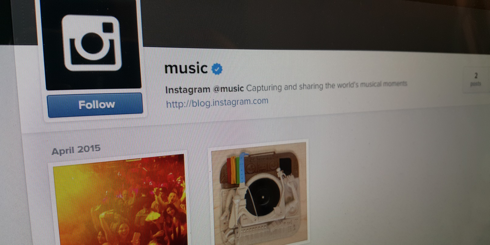 Instagram wants its @music account to be a discovery tool and community all-in-one