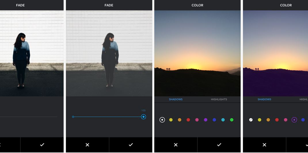 Instagram Adds 'Fade' and 'Color' Tools to Its Image Editor