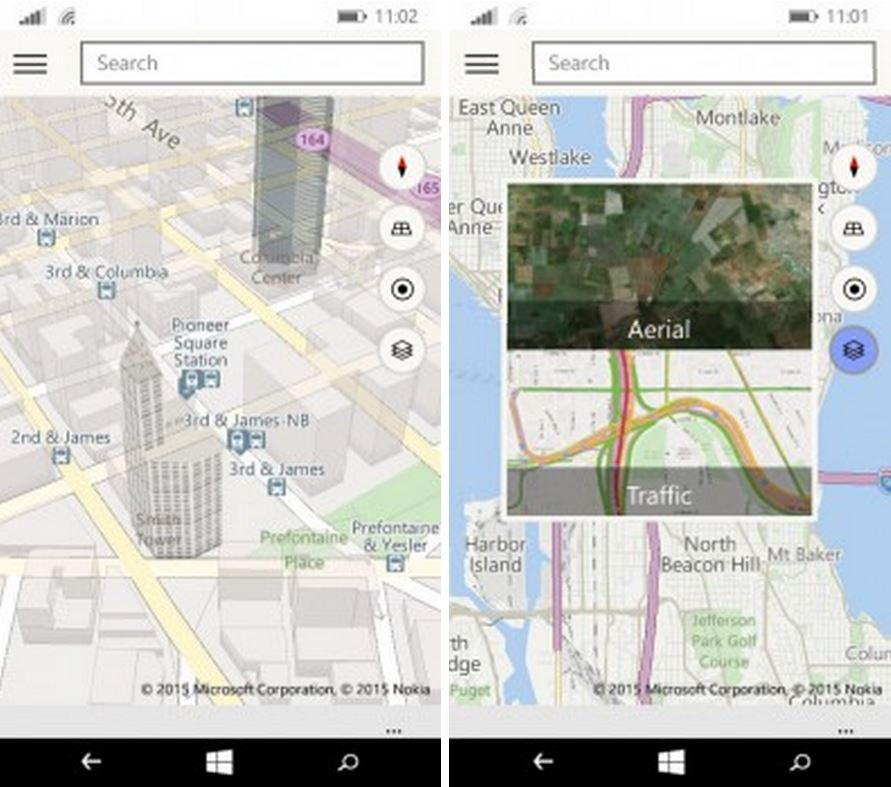 Microsoft Shows Off New Maps App for Windows 10 Phones
