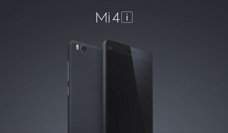 Xiaomi announces the $205 Mi 4i, its first smartphone to debut outside China