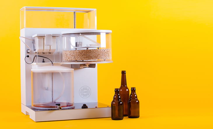 Minibrew's all-in-one beer making system will turn anyone into a brewmaster