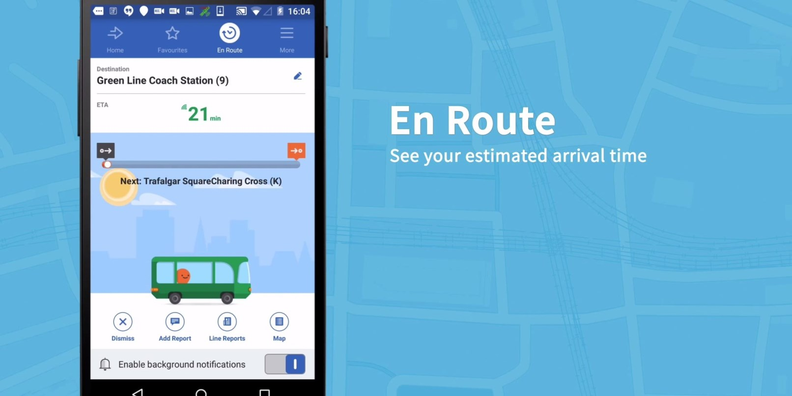 Moovit Gets Improved Search and Accurate ETAs on Android