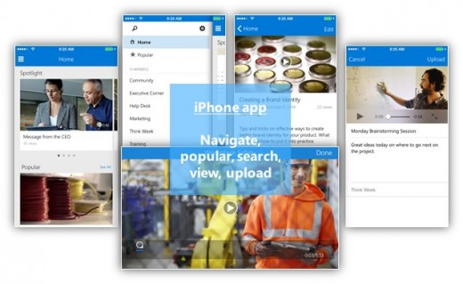 Office 365 Video iPhone