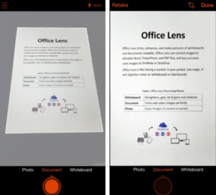 Office Lens On IOS And Android Makes Your Phone A Scanner