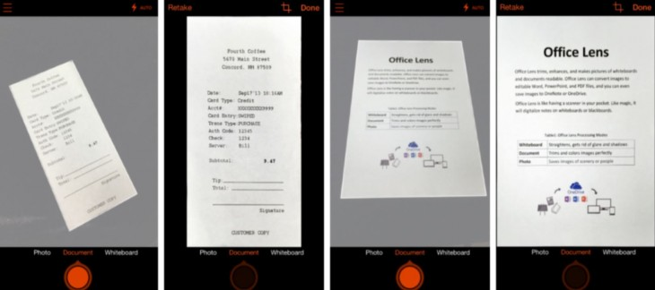 Microsoft's Lens app that converts paper files into editable documents comes to iOS and Android ...