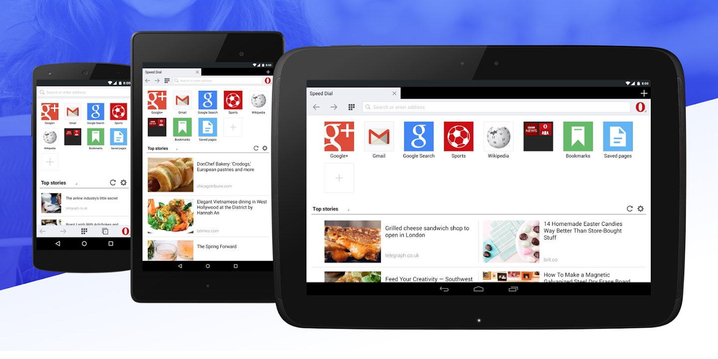 Opera Mini for Android Adds Private Mode and Tablet Interface