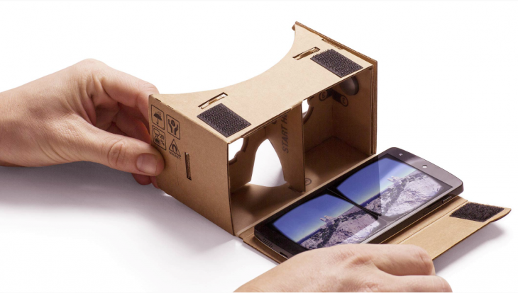 Google has distributed 5 million Cardboard headsets