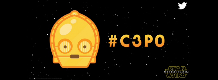 Star Wars emoji hit Twitter – #C3PO, #StormTrooper and #BB8 plus #TheForceAwakens