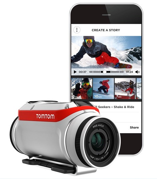 TomTom is Going Head-to-Head with GoPro with New Camera