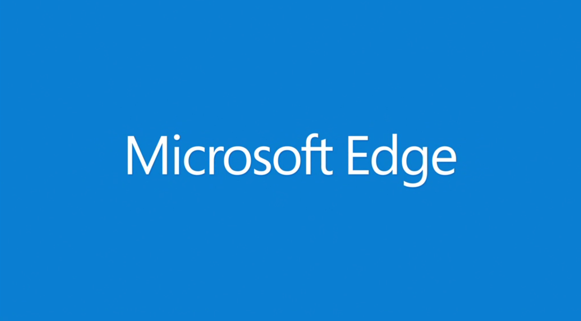 Project Spartan's Name Is Finally Revealed: Microsoft Edge