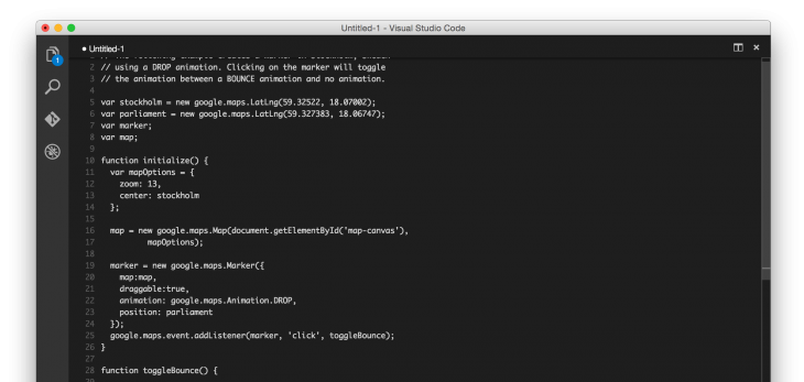 Microsoft's cross-platform Visual Studio Code app is based on technology from Github's Atom ...