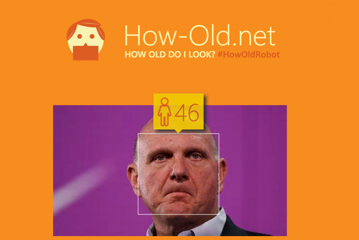 Microsoft built a fun tool that guesses your age