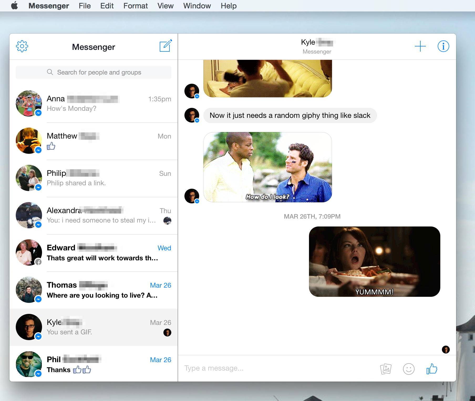 This app brings facebook messenger to your macs desktop facebook messenger for desktop ccuart Image collections