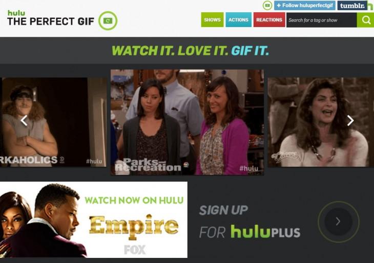 The Perfect GIF Hulu 2