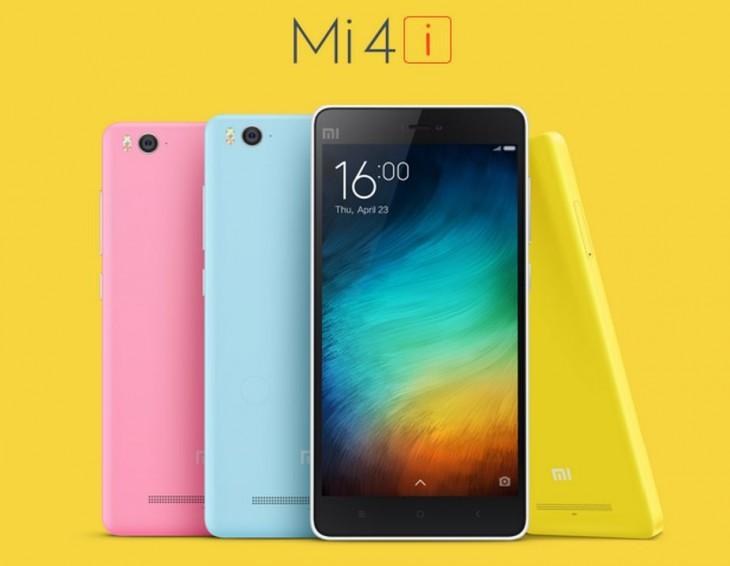 Xiaomi Mi 4i Colors