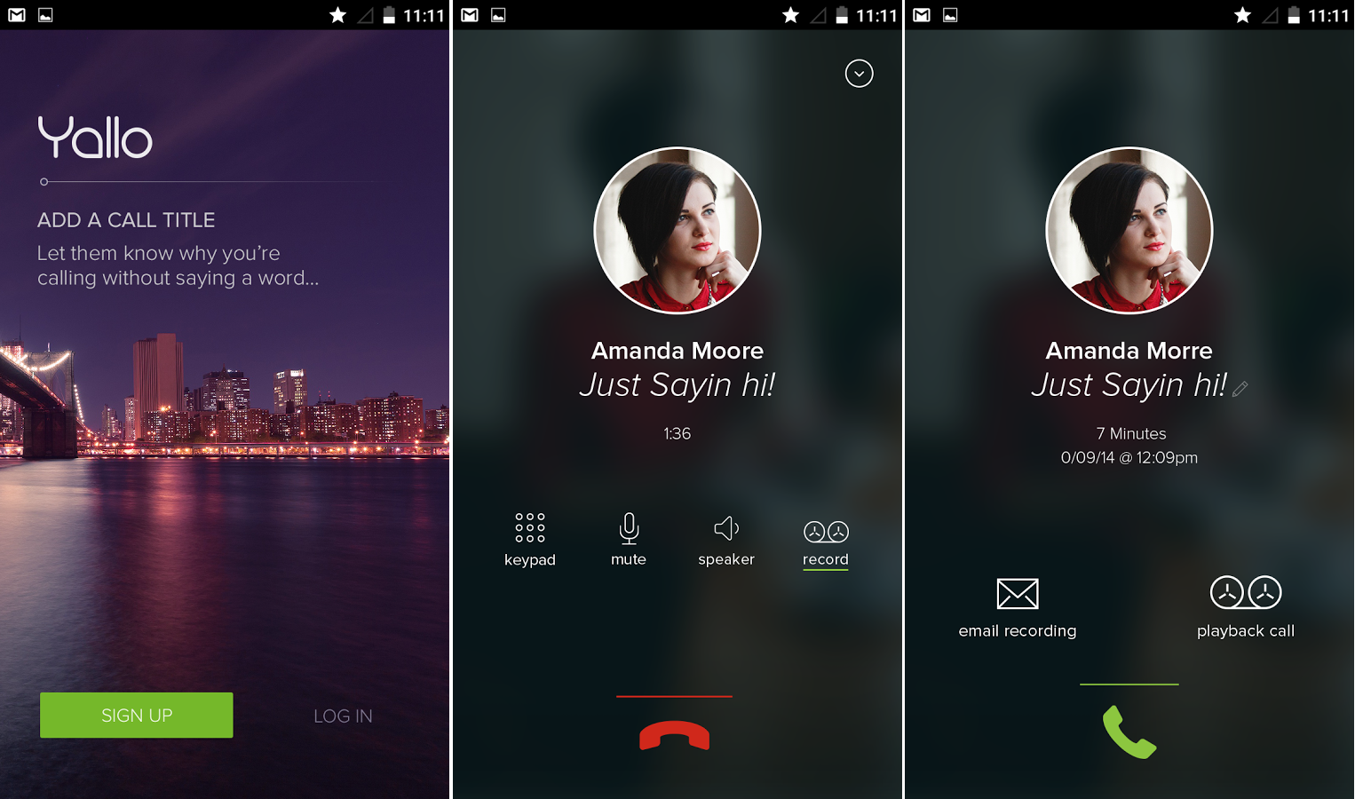 Yallo S Android App Brings Call Recording And Automatic