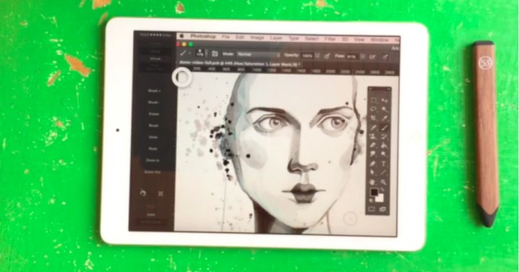 Astropad now features deep integration with FiftyThree's Pencil stylus for creating art on the iPad ...