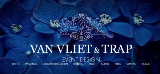 Van Vliet & Trap Blue website