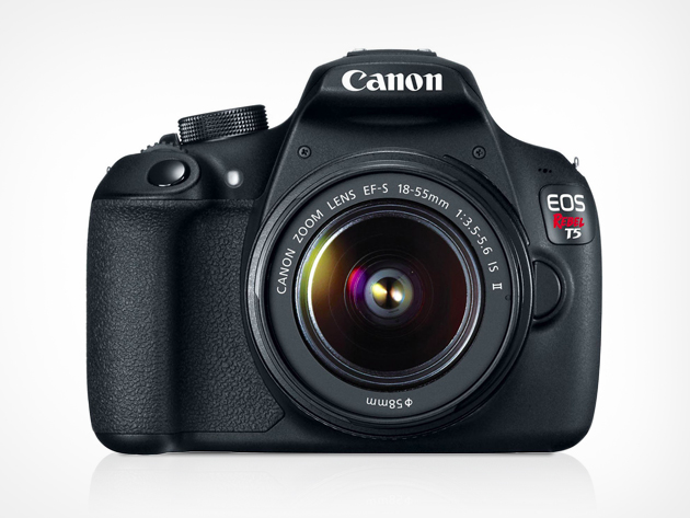 Win a Canon Rebel T5 and accessory kit