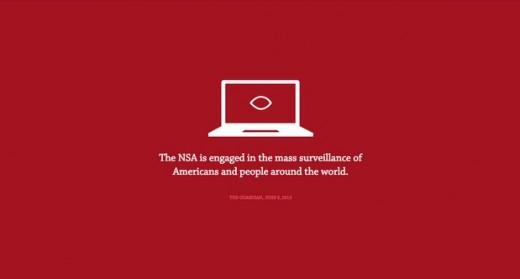 No Way NSA Red website