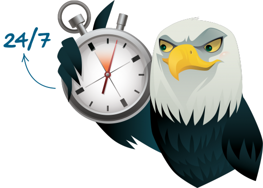 eagle-with-clock