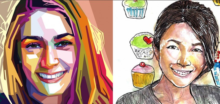 Fiverr Faces lets you order custom designed portraits based on your selfies