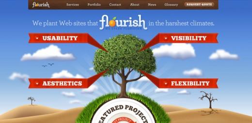 Florida Flourish website