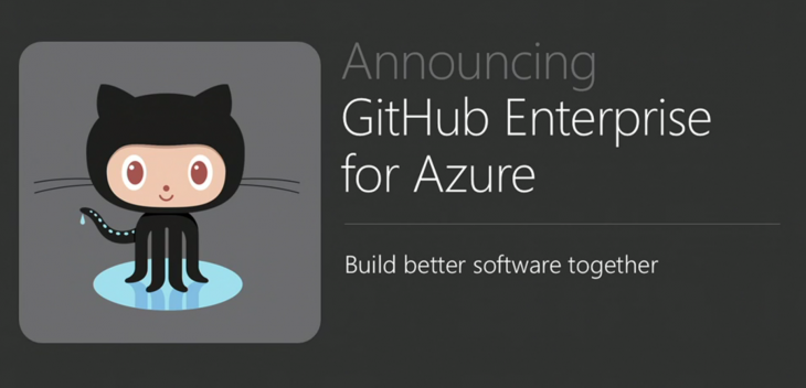 Microsoft Azure gets GitHub Enterprise support
