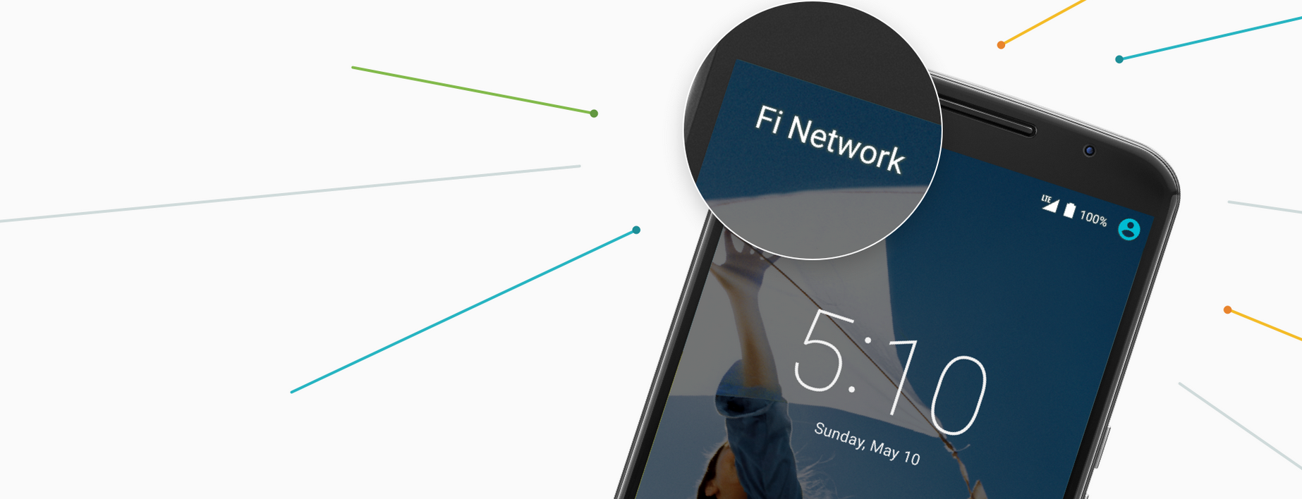 Google Launches Project Fi, its Mobile Service for Nexus 6 Users