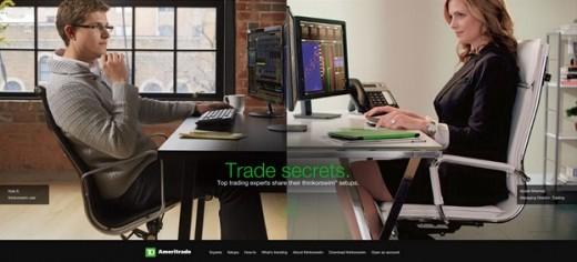 Ameritrade Green website