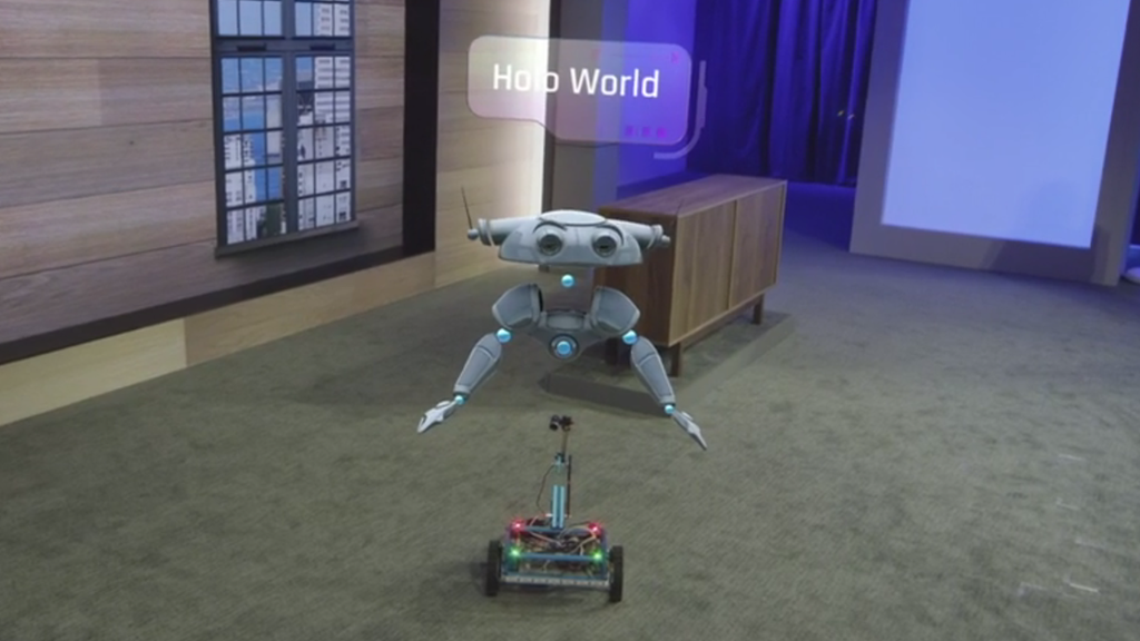 Microsoft Demos How HoloLens Will Run Windows 10 Apps