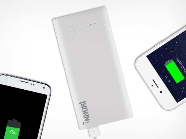42% off the Innori 22,400mAh Portable Battery Pack – just $40 with US and UK Shipping