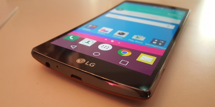 Hands-on with the LG G4: A stunning curved 5.5″ display and a camera that makes big promises