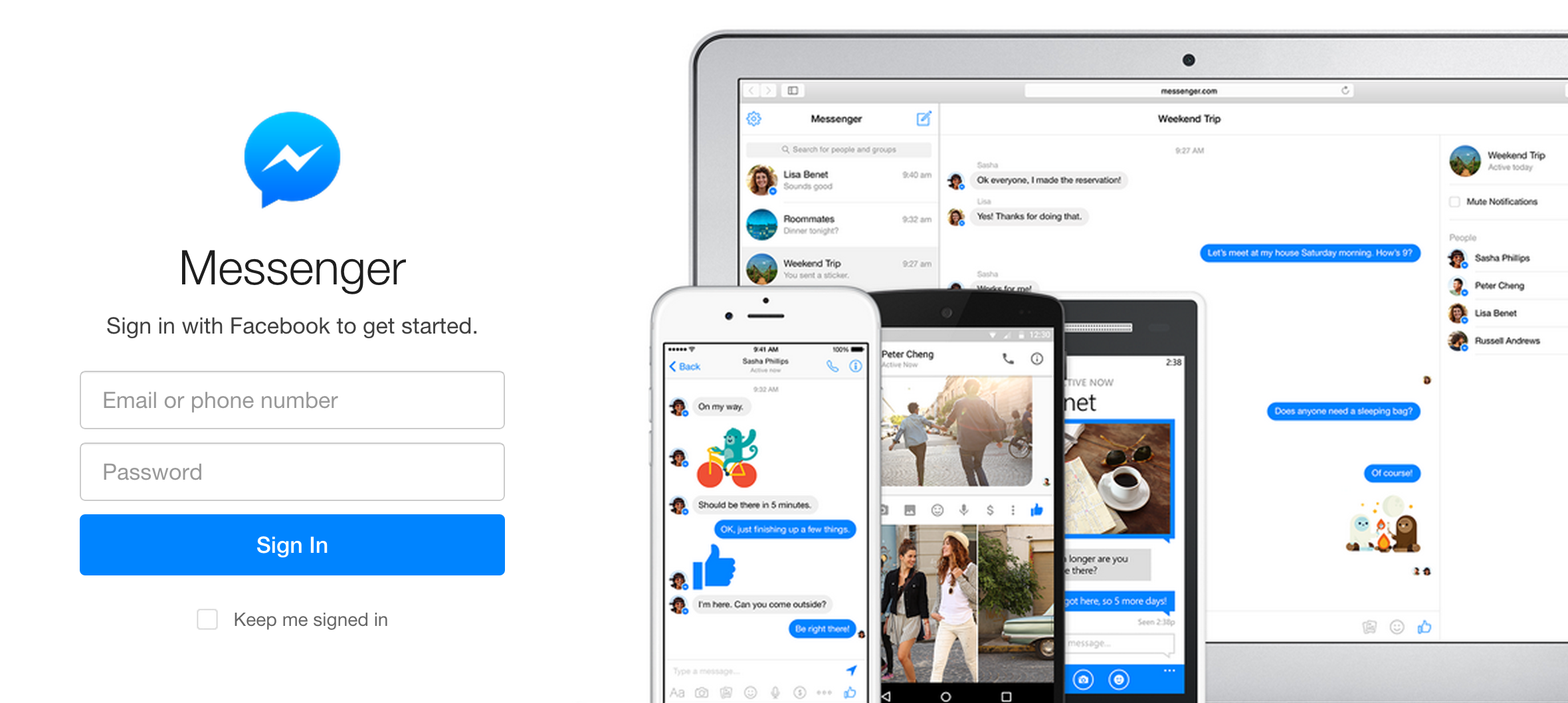 This App Brings Facebook Messenger To Your Mac's Desktop