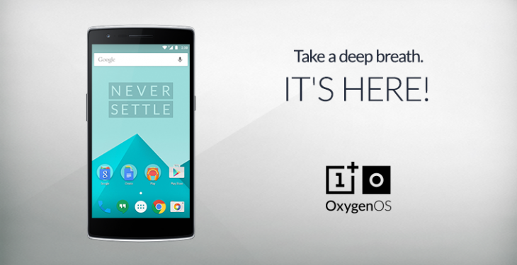 OnePlus One smartphone owners can now download the Lollipop-based OxygenOS