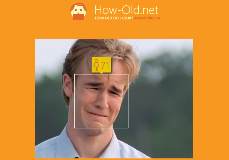 Screwing with Microsoft's age guessing machine is frickin' hilarious