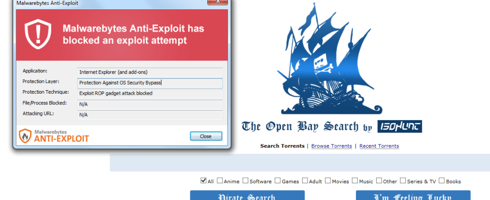 WordPress sites are at risk of Pirate Bay clone slinging malware