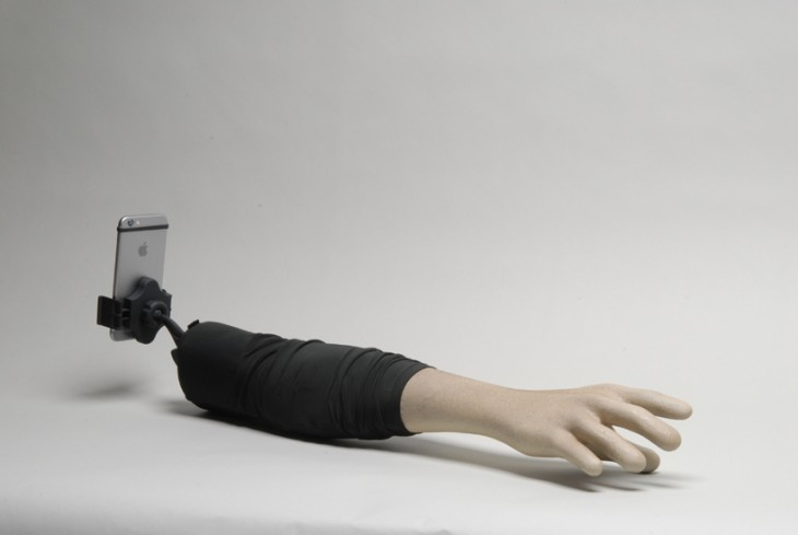 The 'Selfie Arm' is both creepy and hilarious