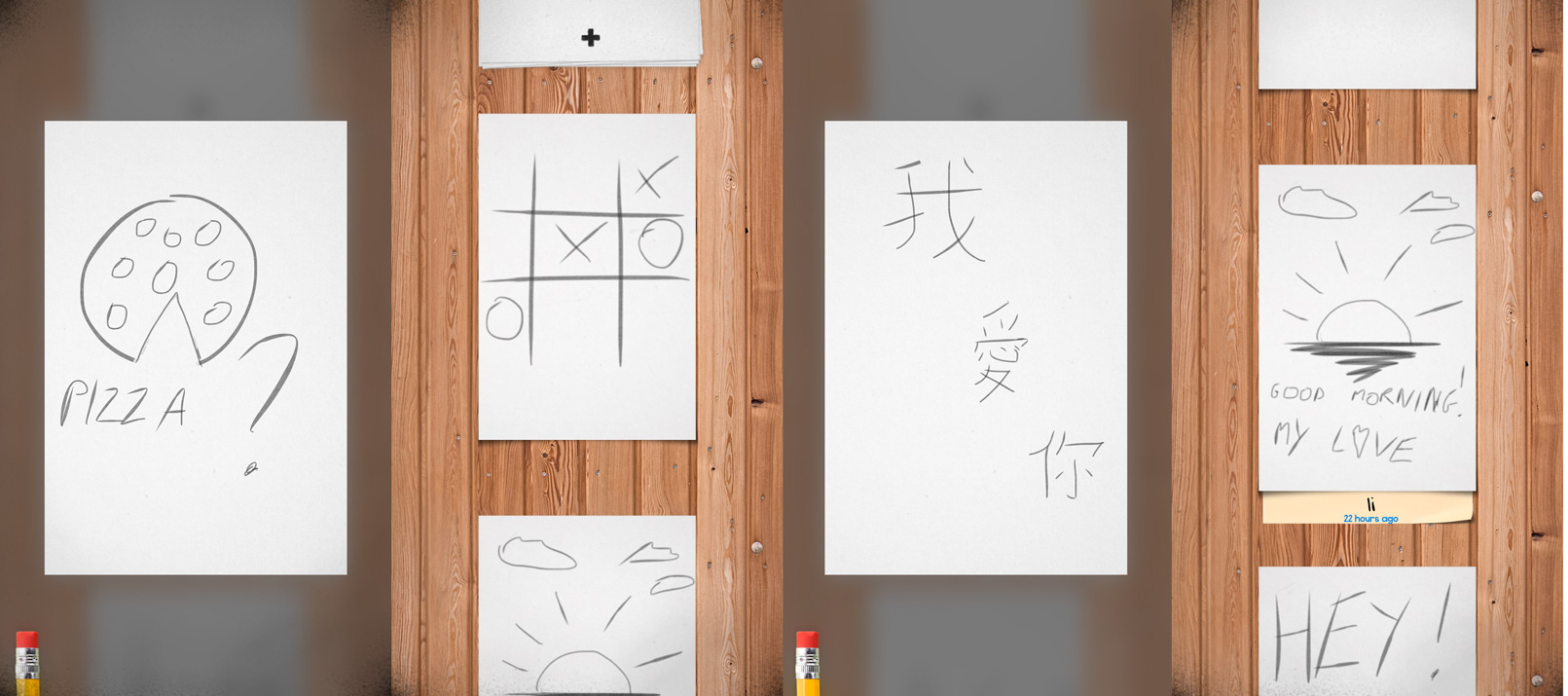 Sketchat for iPhone Lets You Draw Quick Pencil Messages