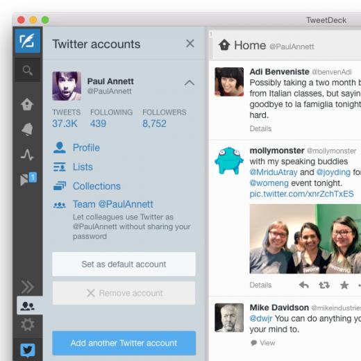 tweetdeck update mac