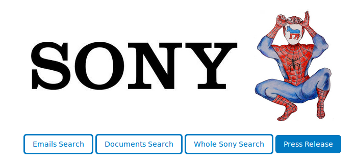 WikiLeaks releases a searchable archive of hacked Sony Pictures emails and documents