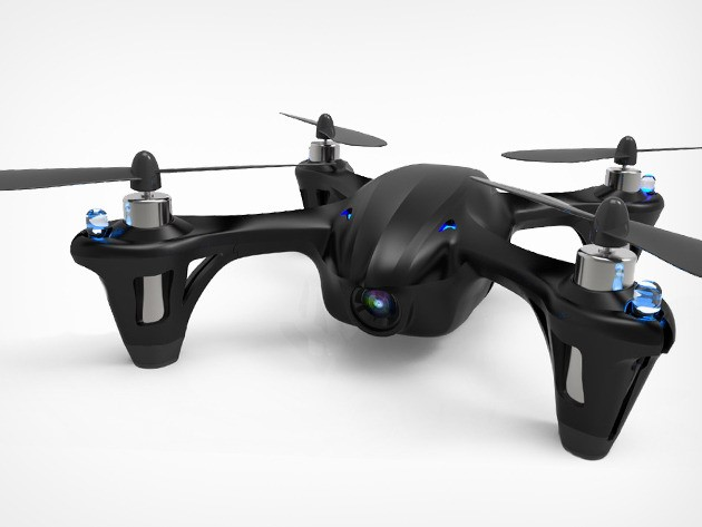 The Code Black Drone + HD Camera is Back: 50% Off