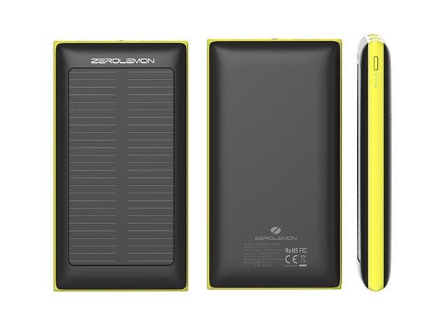 47% off ZeroLemon SolarJuice 10,000 mAh Battery – just $26