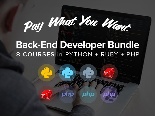 Pay what you want for this Back-End Developer Bundle
