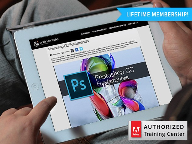 Get 70% off lifetime access to over 5,000 Adobe training videos