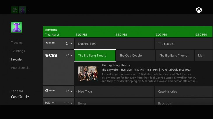Xbox One can now tune in to over-the-air live TV for users in US and Canada