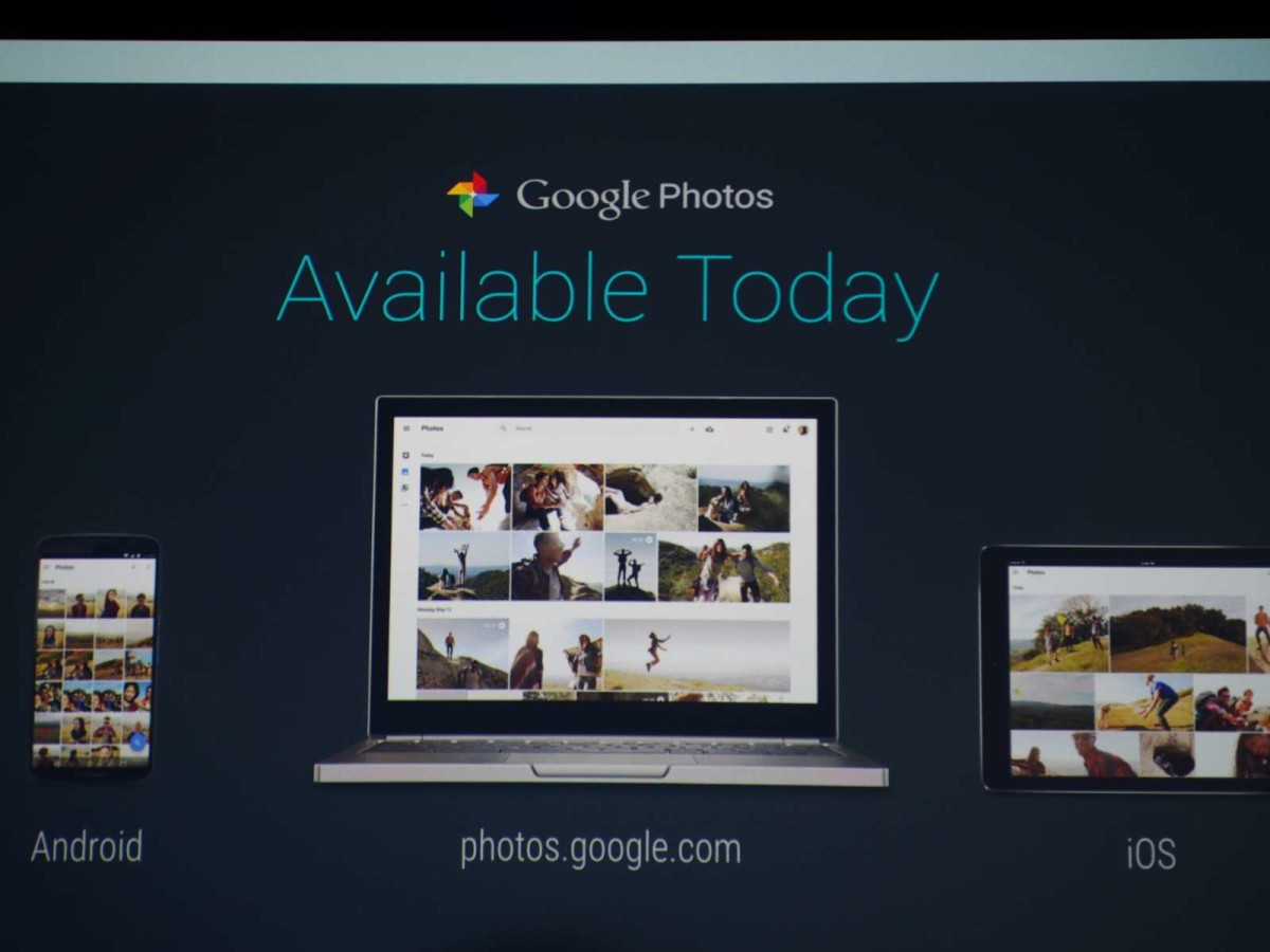 Google launches Google Photos, a new service independent of Google+